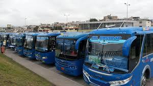 Transporte público en medio de la crisis sanitaria