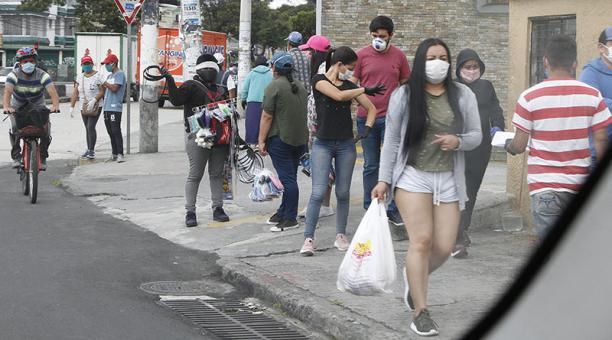Contagio comunitario en Cumanddá- Chimborazo