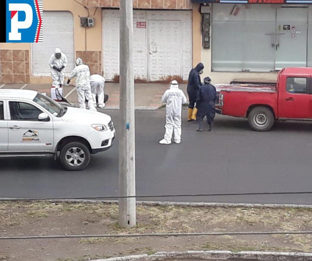 Muerte en la avenida 11 de noviembre en Riobamba