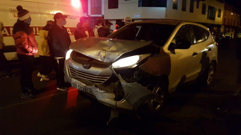Accidentes de tránsito en Riobamba