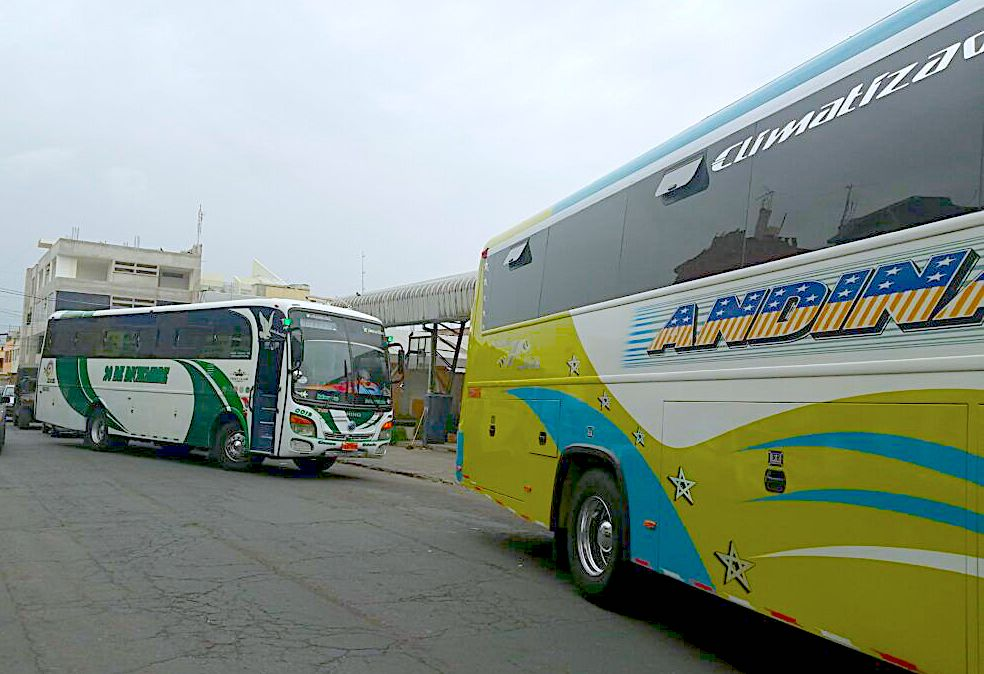 Transporte público Chimborazo