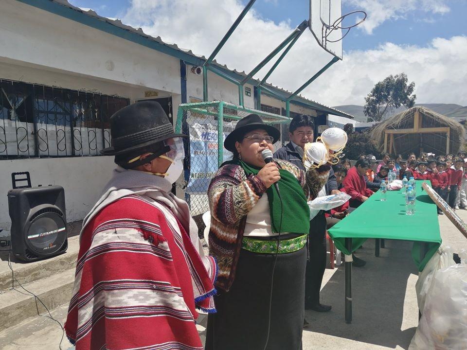 Viceprefectura Chimborazo Delia Caguana