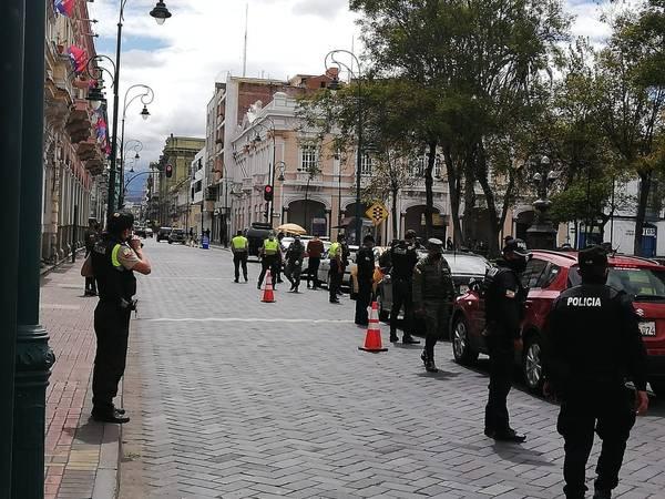 La Policía Nacional controló y obtuvo varios resultados positivos. https://laprensa.com.ec