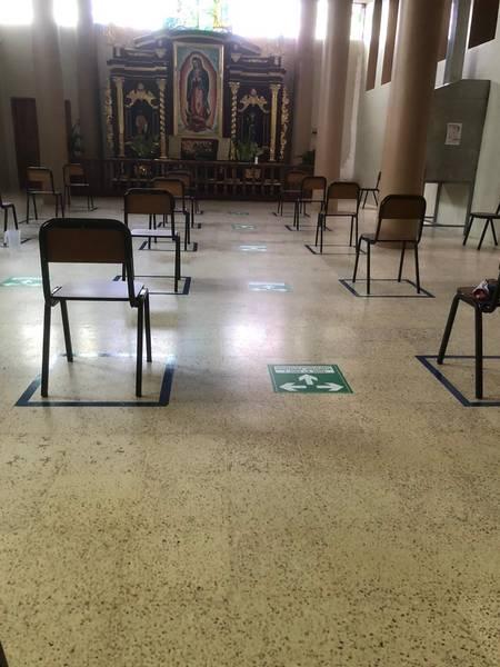 Implementaciones de bioseguridad para reapertura de las iglesias. https://laprensa.com.ec