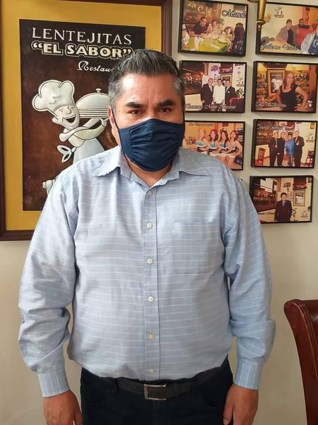 Elvis Jiménez, presidente de la Asociación de Restaurantes y Afines de Chimborazo.. https://laprensa.com.ec