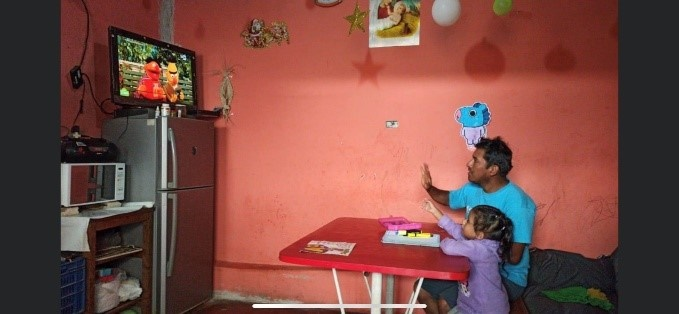 Ambiente para recibir clases en línea . https://laprensa.com.ec