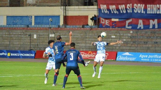 Empate 1x1 entre Centro Deportivo Olmedo y el Club Sport Emelec. https://laprensa.com.ec. https://laprensa.com.ec