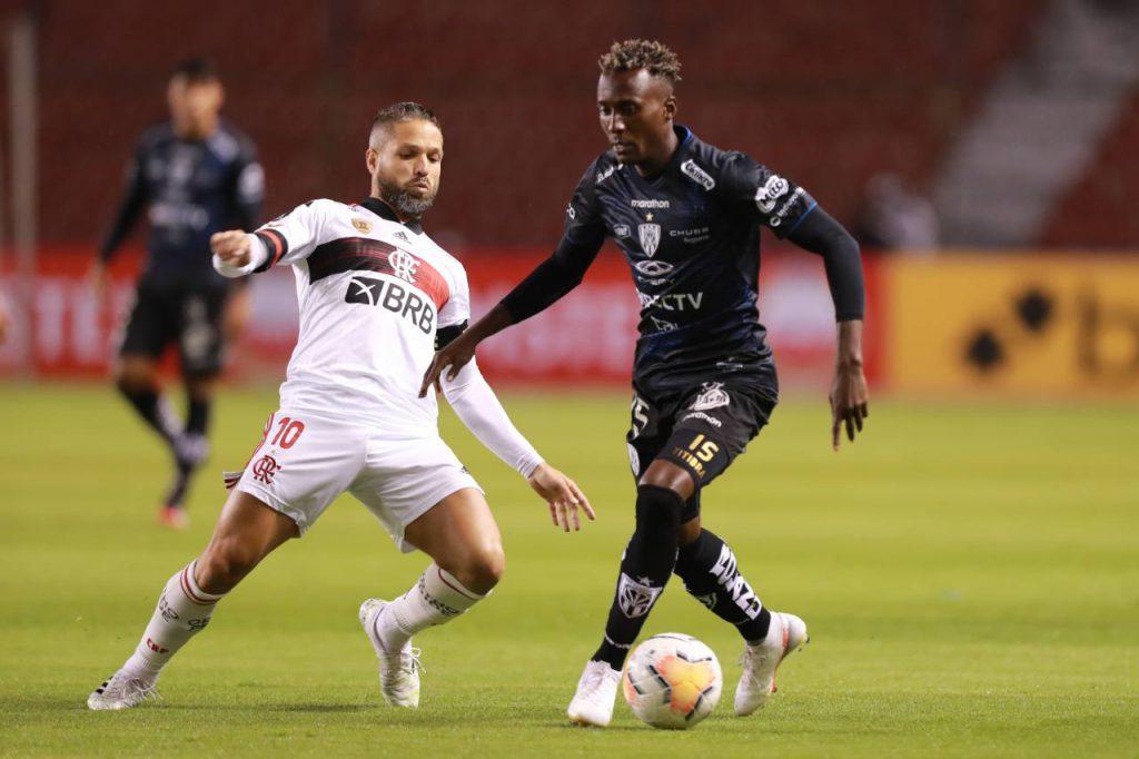 Copa Conmebol Libertadores: Independiente del Valle goleó 5x0 a Flamengo https://laprensa.com.ec