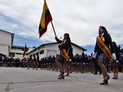 Juramento a la Bandera será solo vía on line. https://laprensa.com.ec