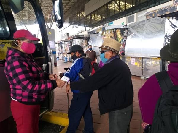 Normas de Bioseguridad sí están vigentes en buses. https://laprensa.com.ec