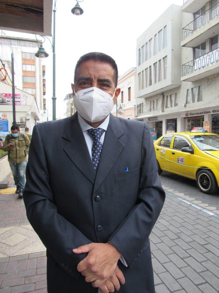 Carlos Moyota, INGENIERO COAC RIOBAMBA