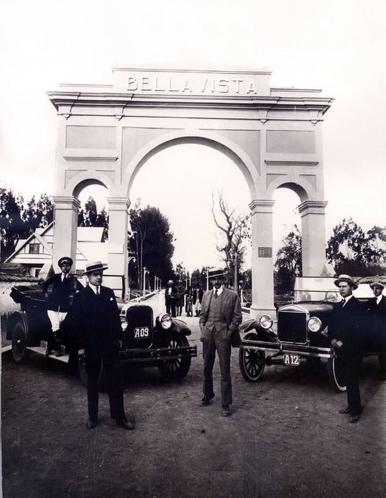 Las primicias de Riobamba: Arco de Bellavista, entrada a la que fue la primera ciudadela.