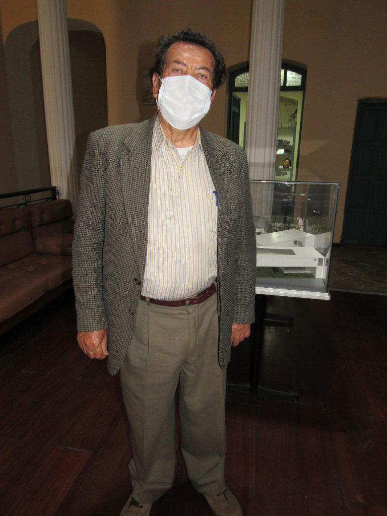 Gerardo Mena, EXGERENTE ECUACERÁMICA