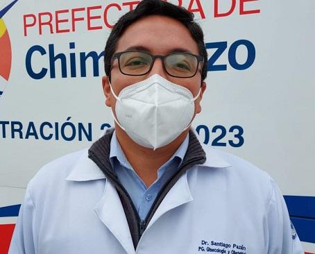 La gente tiene miedo de ir a los hospitales por temor al contagio, dijo el médico Santiago Pazán https://laprensa.com.ec