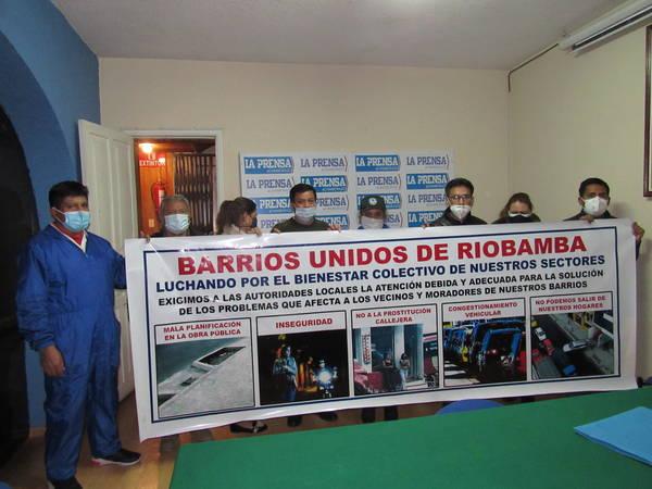 Barrios de Riobamba  demandan soluciones. https://laprensa.com.ec
