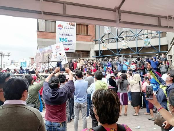Manifestaciones Riobamba