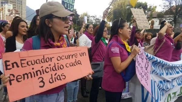 Feminicidios Chimborazo