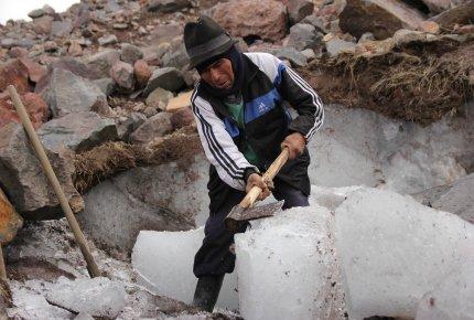 Ruta del hielero en el Chimborazo. https://laprensa.com.ec