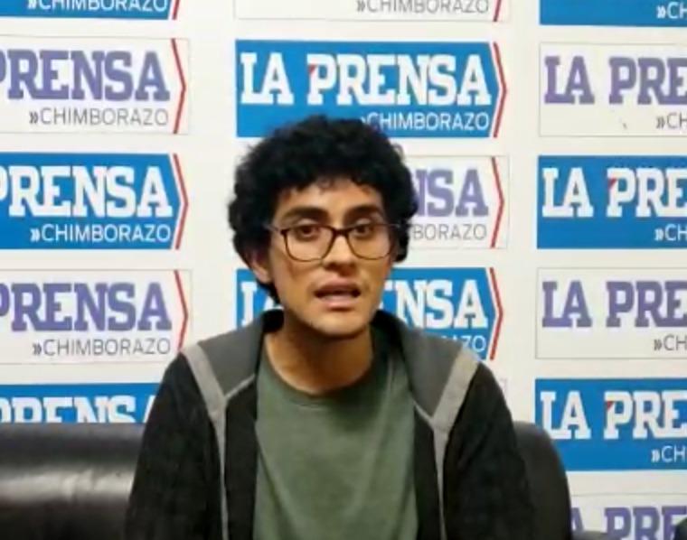 Derechos LGTBI: Es para enganchar a los jóvenes, dice Esteban Chávez, estudiante de Comunicación Social. https://laprensa.com.ec