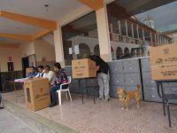 Recintos electorales Riobamba
