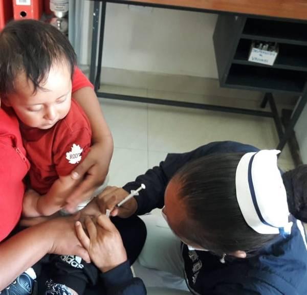Vacunación Chimborazo