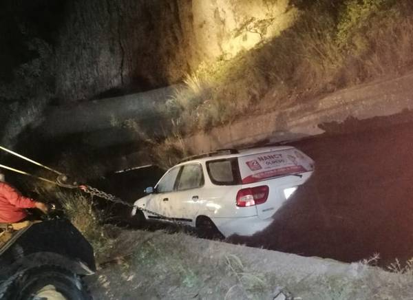 Accidente canal de riego