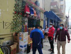 Actividad comercial Riobamba