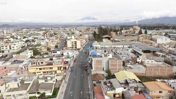 avenida G. Dávalos Riobamba