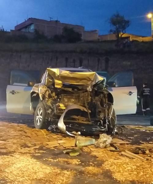 Accidente panamericana Riobamba