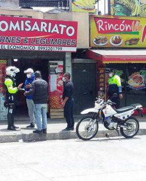 Nuevas restricciones de tránsito Riobamba