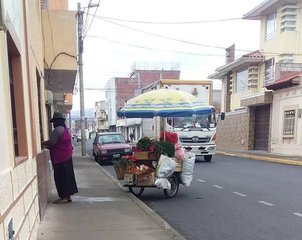Testimonios comercio Riobamba