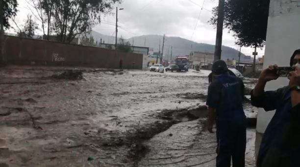 Quebradas rellenadas illegalmente Riobamba