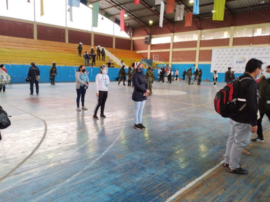 Votaciones elecciones 2021 Chimborazo