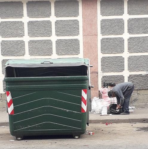 Reciclaje de basura Riobamba