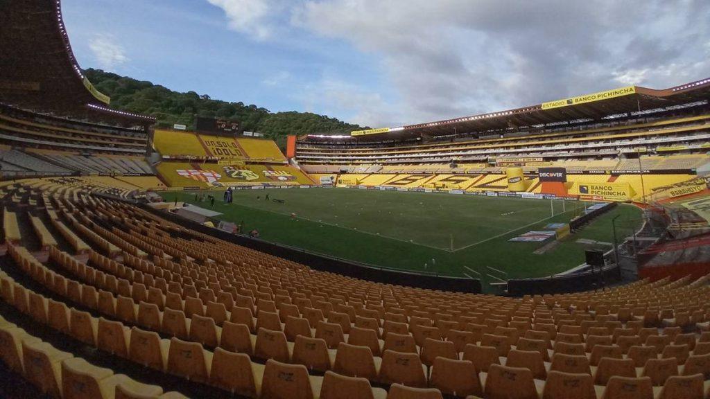 Aforos en estadios Ecuador
