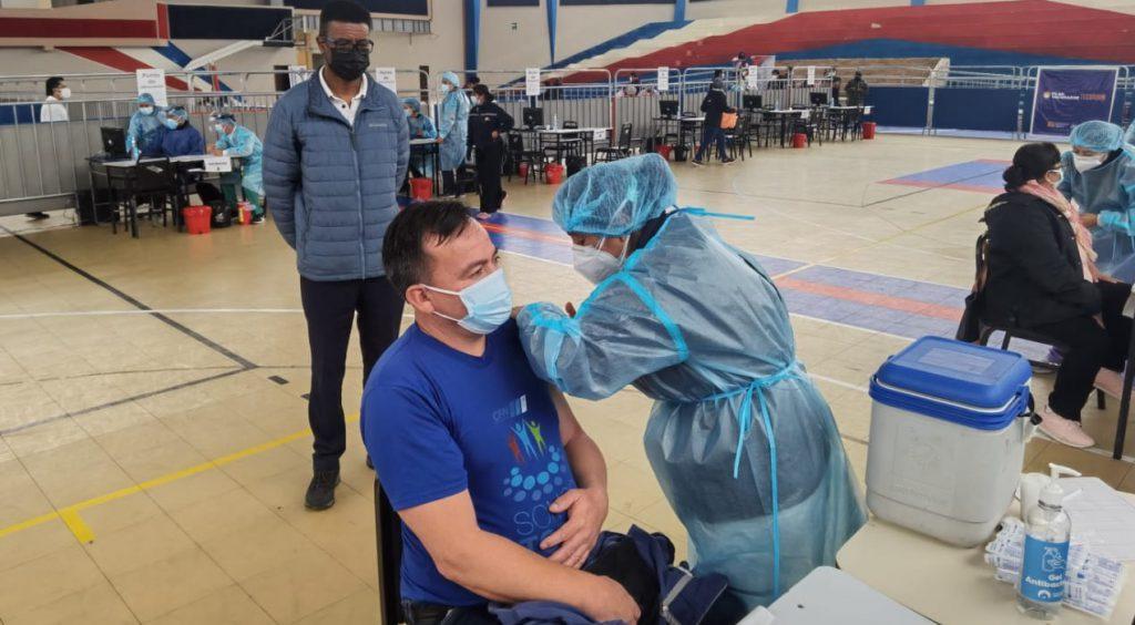 Vacunación contra el Covid-19 Riobamba