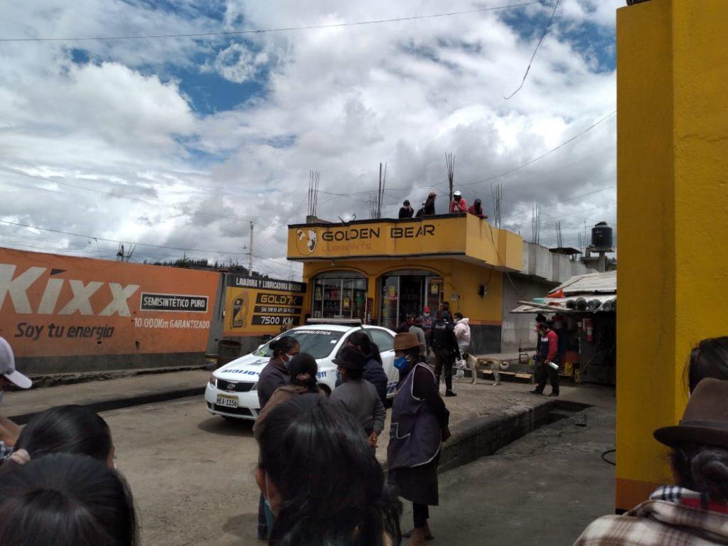 Hijo asesinó a su padre en Riobamba
