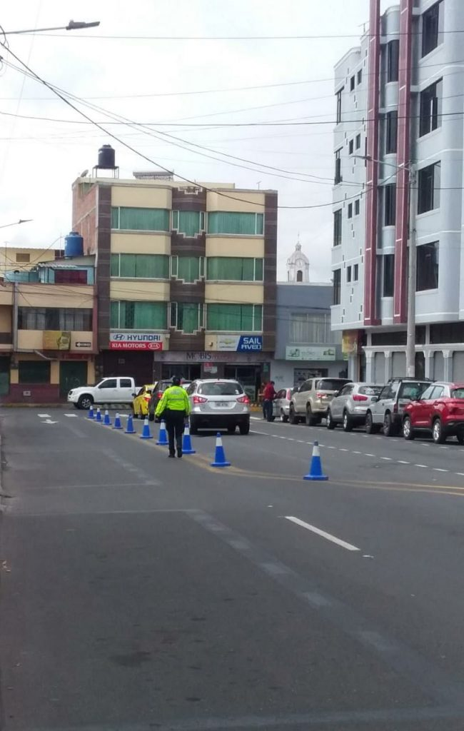 Vías de Riobamba