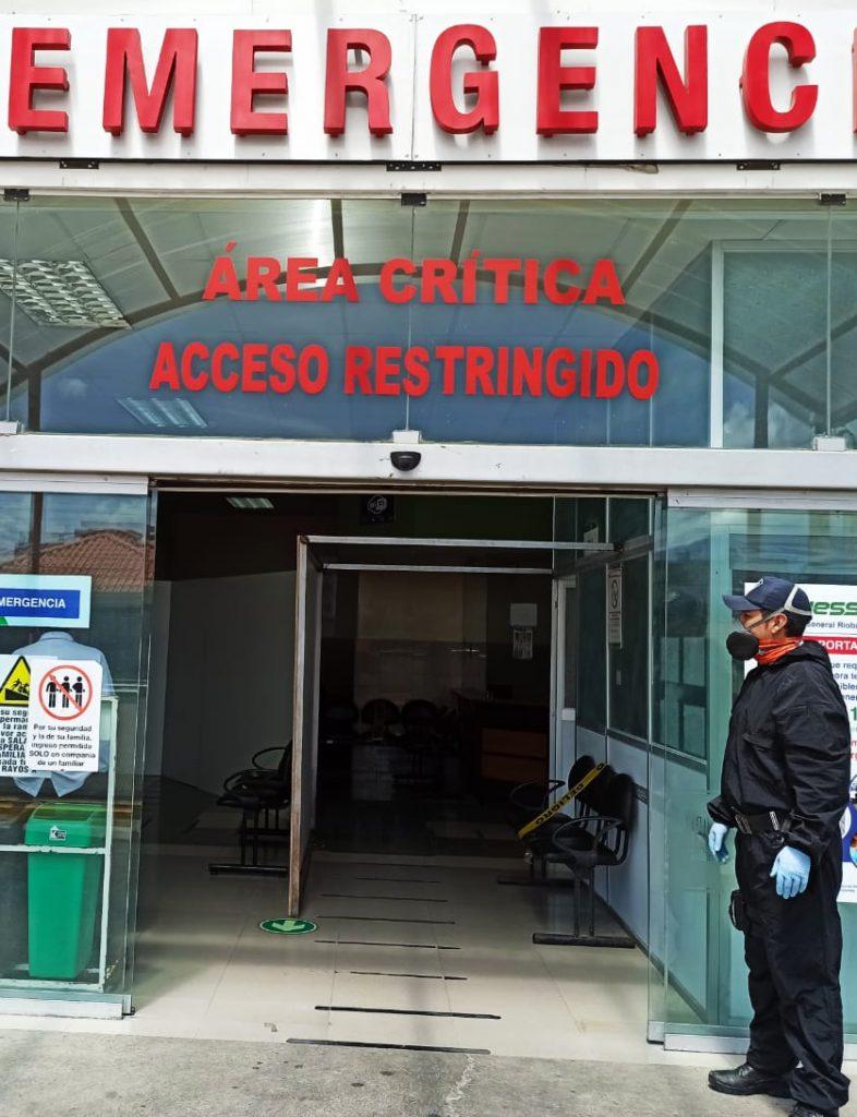 Hospital del IESS Chimborazo