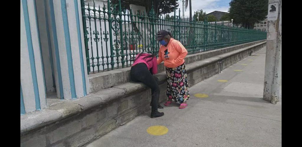 Mujer asesinada en Guano