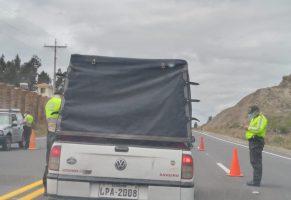 Se restringe la movilidad en Chimborazo