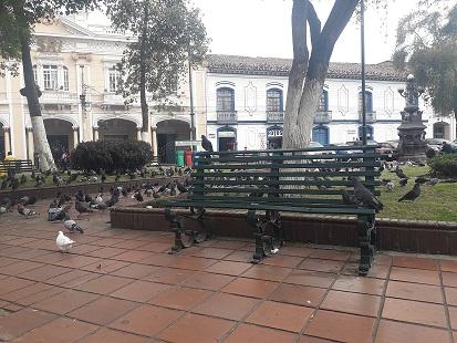 Adulto mayor murió en parque de Riobamba