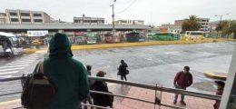 Paro del transporte interprovincial Chimborazo