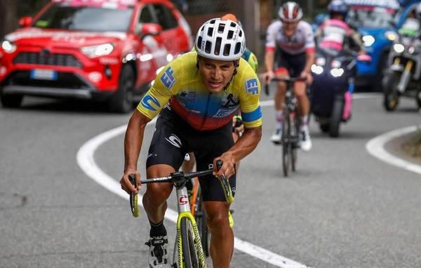 Ecuatorianos Giro de Italia 2021