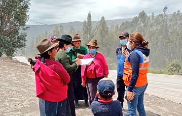 Eventos naturales peligros Chimborazo
