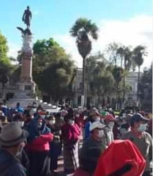 Colector San Luis en Riobamba