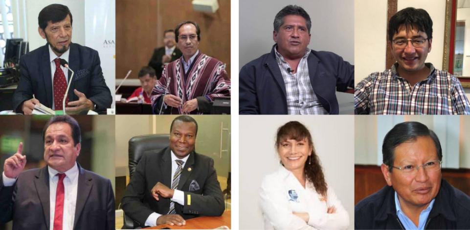 Asambleístas de Chimborazo 2018