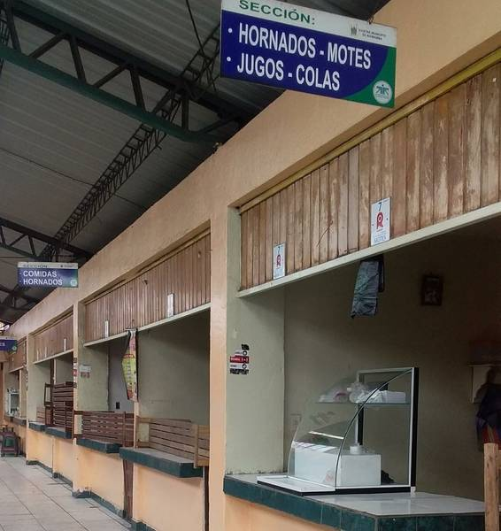 Mercado Dávalos en Riobamba