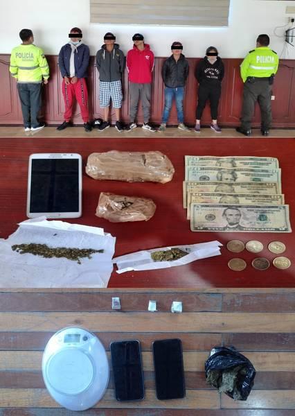 Venta de droga en Chimborazo