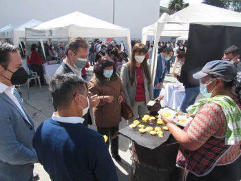 Feria de emprendimientos Riobamba